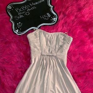 Cute white mini dress